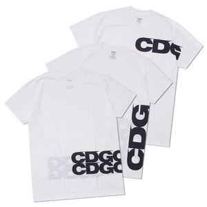 Comme des Garcon Hanes 3 Tagless White Shirts, S